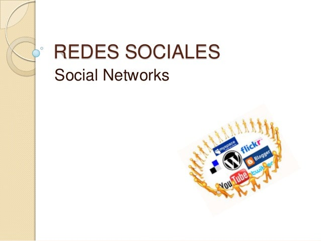 REDES SOCIALESSocial Networks