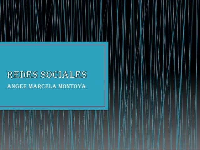 Angee marcela Montoya