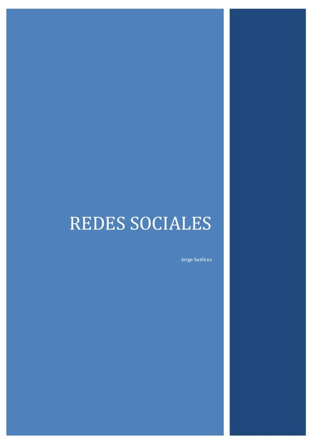 REDES SOCIALES Jorge Saelices