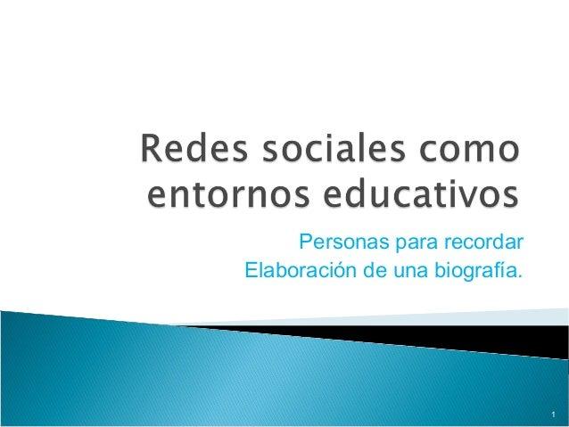 Redes sociales como entornos educativos
