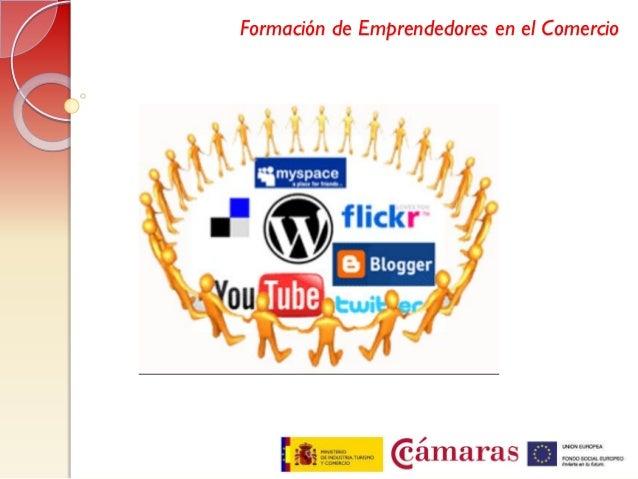 Redes sociales emprendedores comercio