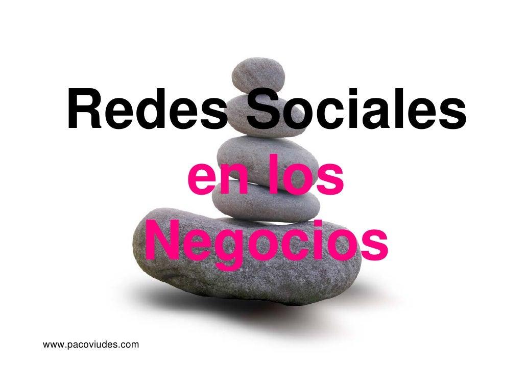 Redes sociales en los negocios