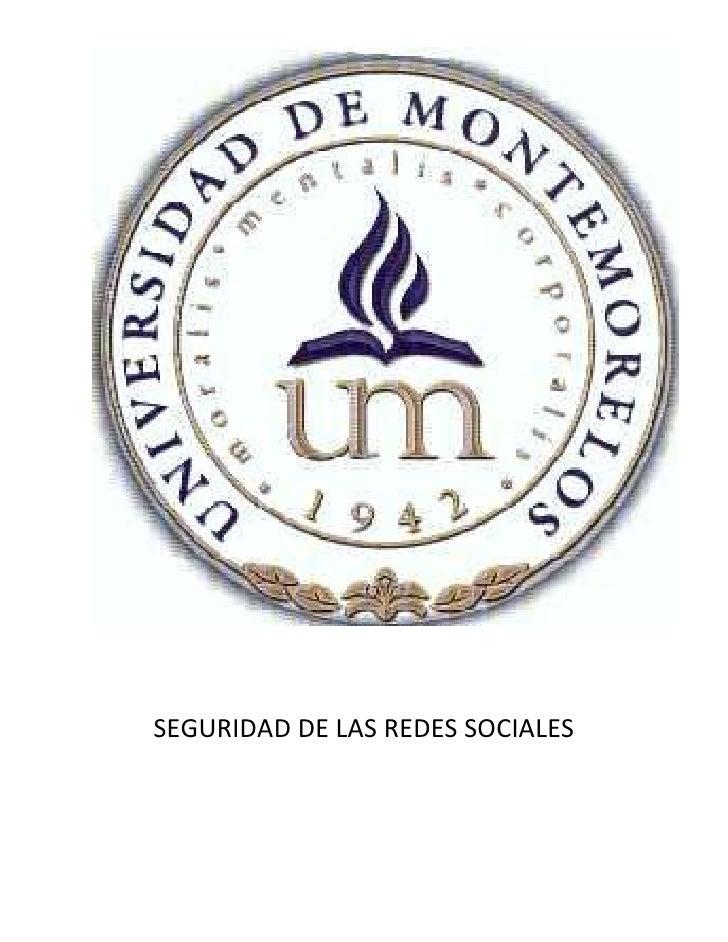69850-406400                                            <br />SEGURIDAD DE LAS REDES SOCIALES<br />Omar Gutiérrez Lozano<b...