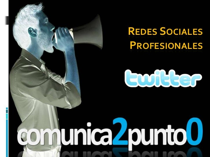 Redes sociales profesionales: TWITTER