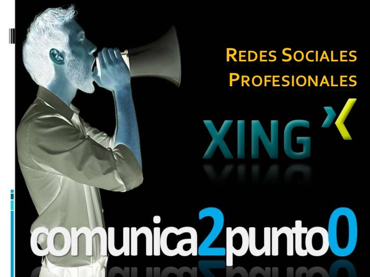 Redes sociales profesionales: XING