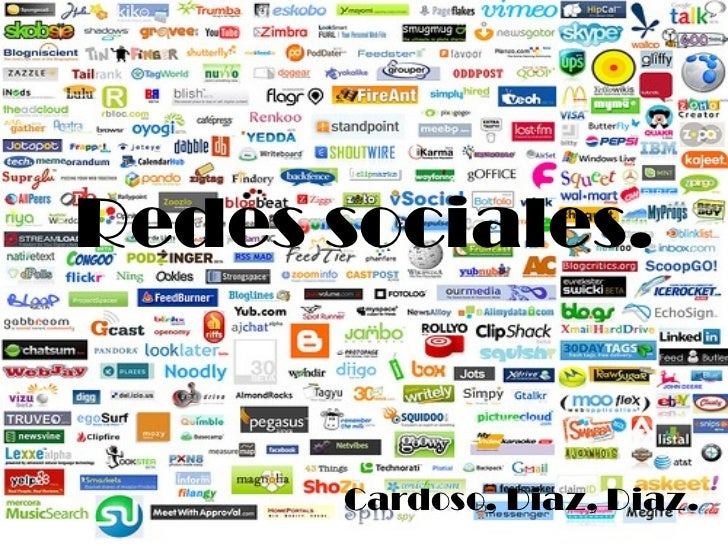 Redes sociales. Cardoso, Diaz, Diaz.