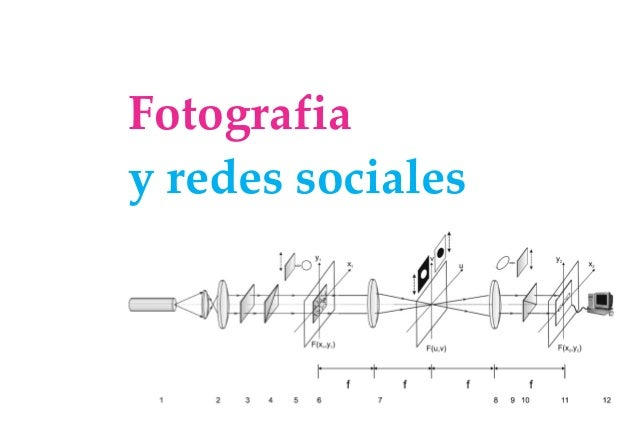 Fotografiay redes sociales