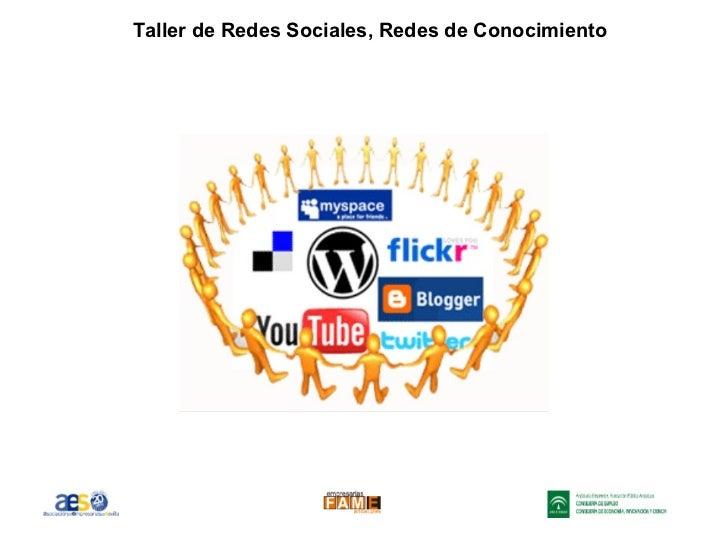 Taller de Redes Sociales, Redes de Conocimiento