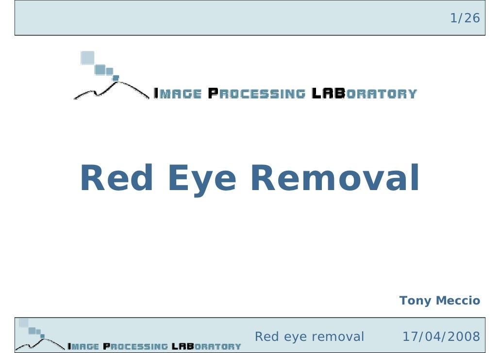 Red Eye Removal