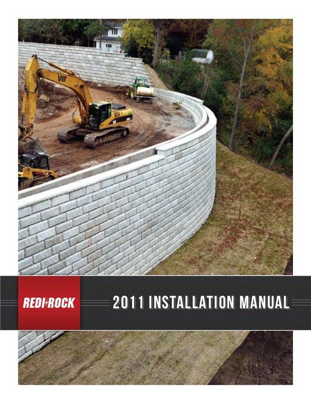 2011 installation manual