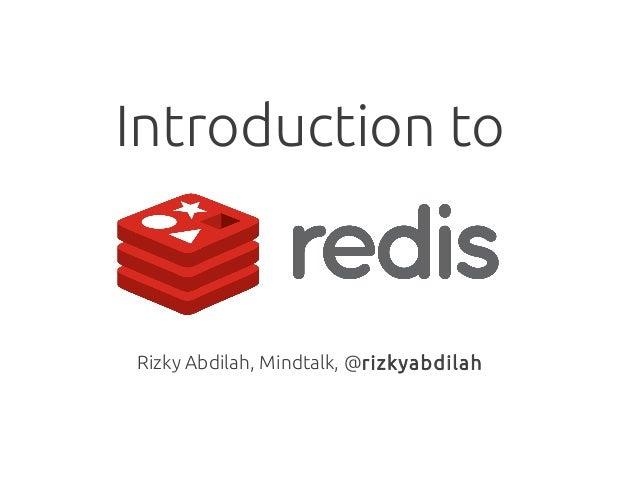 Introduction toRizky Abdilah, Mindtalk, @rizkyabdilah