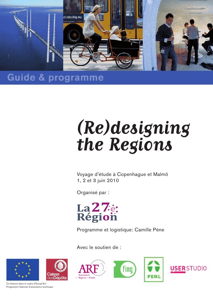 Guide & programme                                                 (Re)designing                                           ...