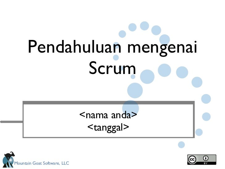 Redistributable Intro to Scrum