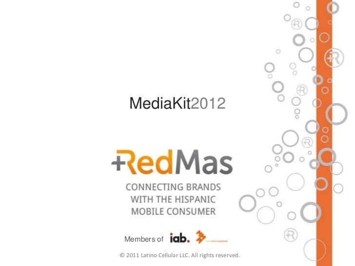 RedMas MediaKit 2012