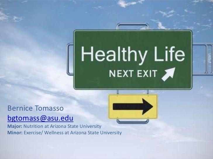 Healthful Lifestyle Presentation