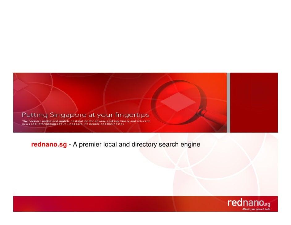 Rednano   The Decision For Selecting Partner   Technology