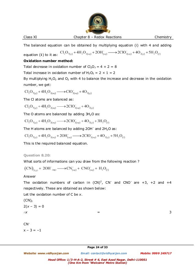 Chapter 20 Worksheet Redox Sharebrowse – Chapter 20 Worksheet Redox