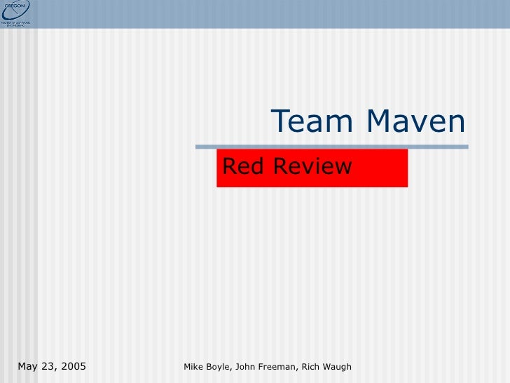 Red Review Team Maven