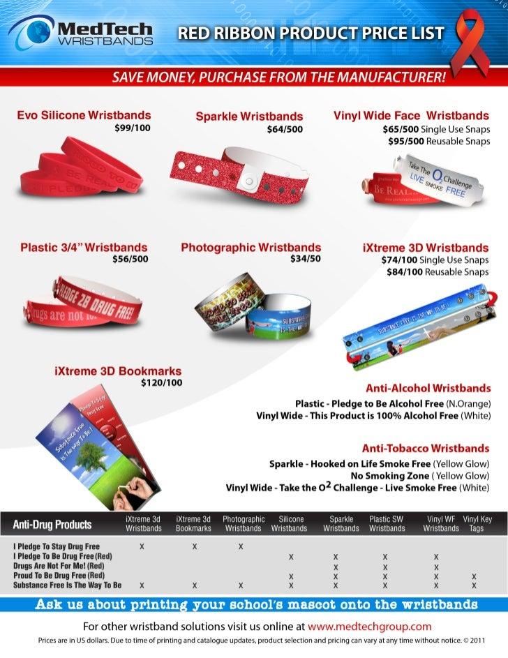 Red Ribbon flyer 2011
