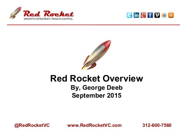 An Overview of Red Rocket Ventures