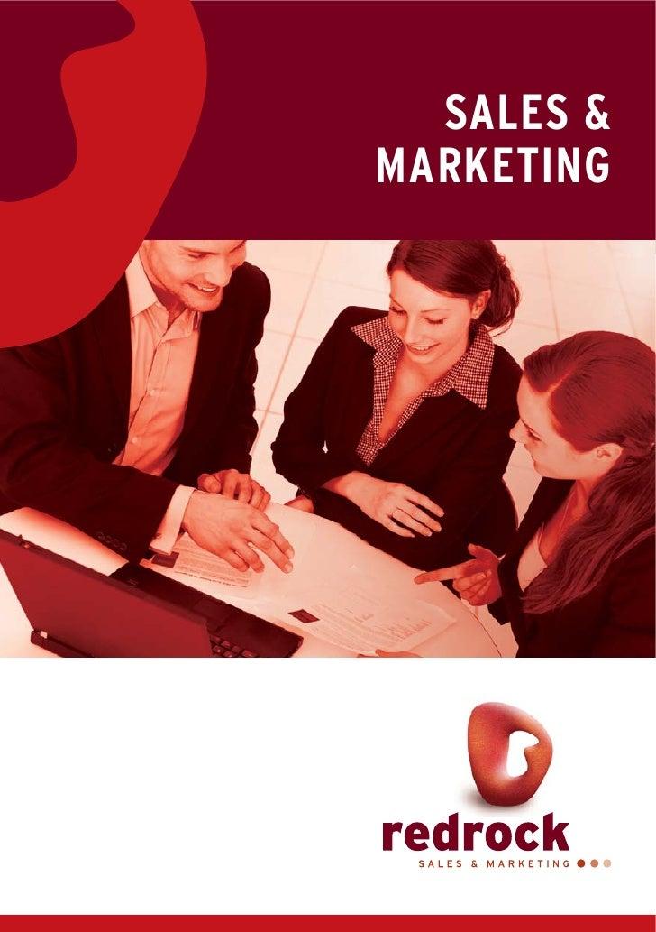 Redrock Sales Marketing Brochure
