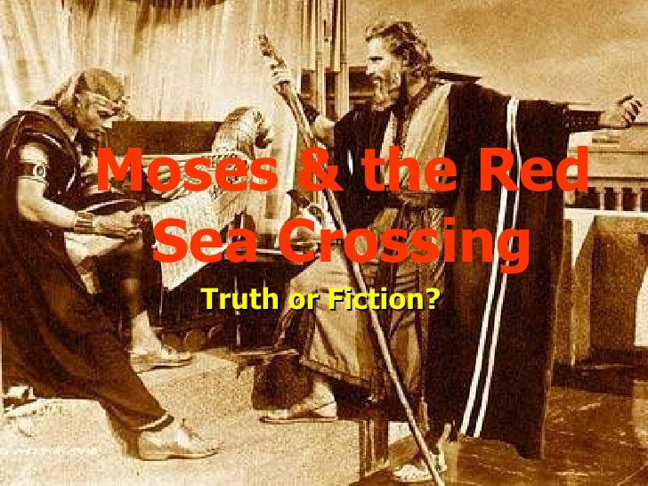 Red Sea Crossing - Moses