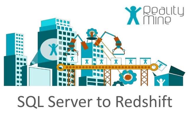 SQL Server to Redshift