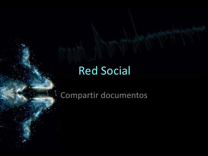 Red Social Compartir documentos