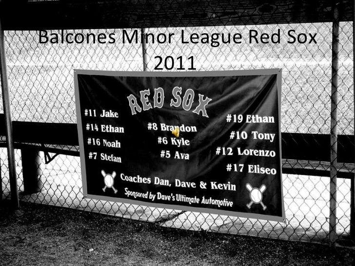 Balcones Minor League Red Sox 2011