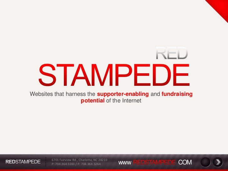 Red Stampede Company Profile And Product Overview