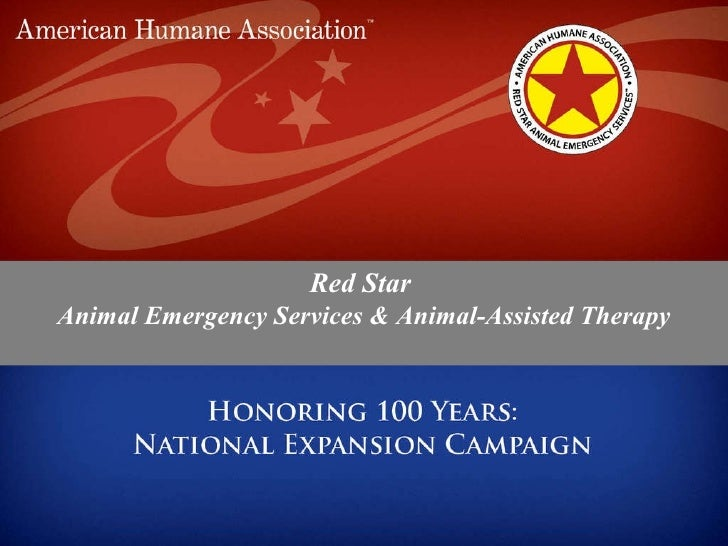 Red Star  Animal Emergency Services & Animal-Assisted Therapy