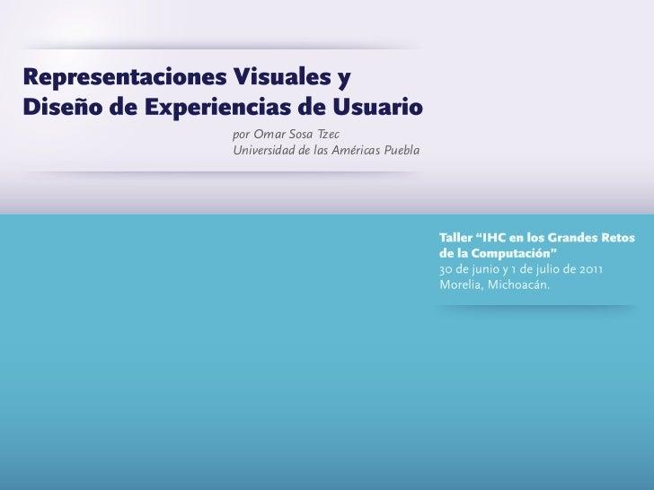 Representaciones Visuales y Diseño de Experiencia de Usuario