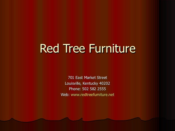 Red Tree Furniture
