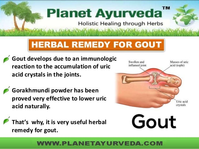 How To Get Rid Of Gout Naturally Fast
