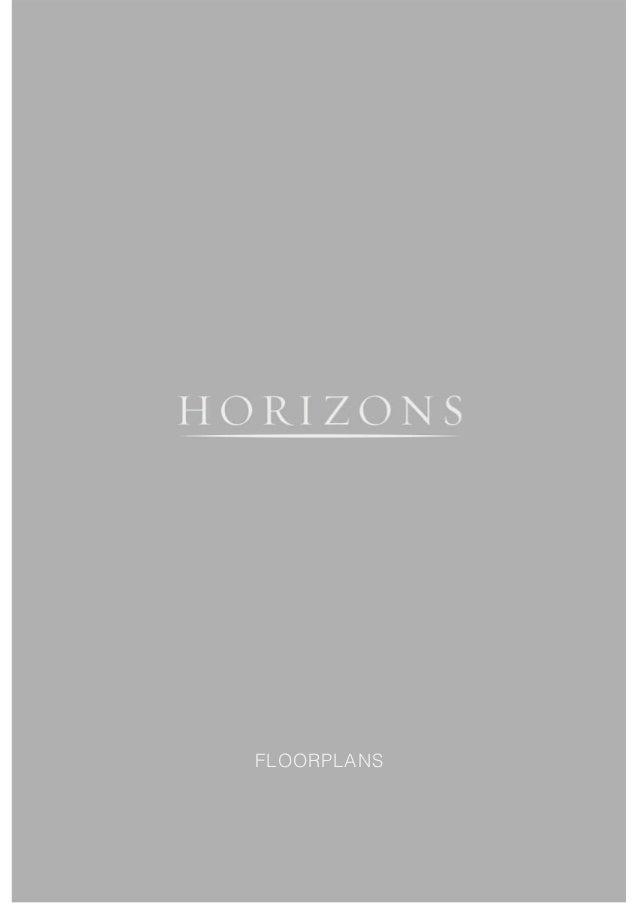 Reduced file horizons floorplan brochure-