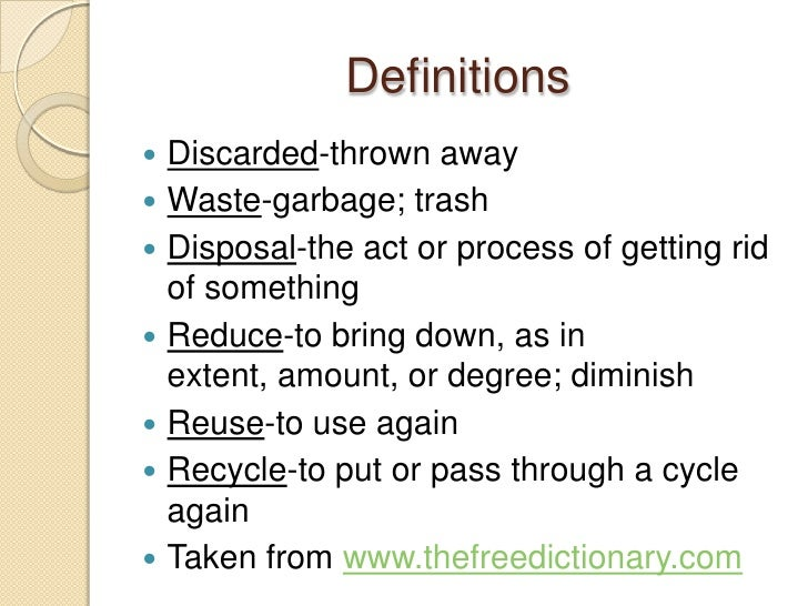 the problem of garbage disposal essay Following given is a custom written essay example about waste management be sure to read this great paper sample that can help you compose your own paper.