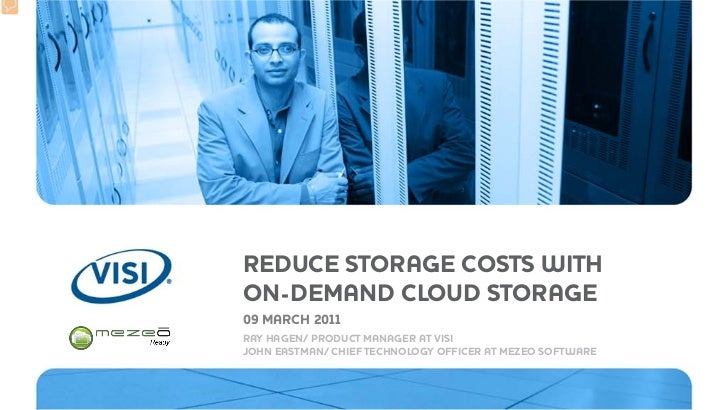 Reduce Storage Costs with On-Demand Cloud Storage