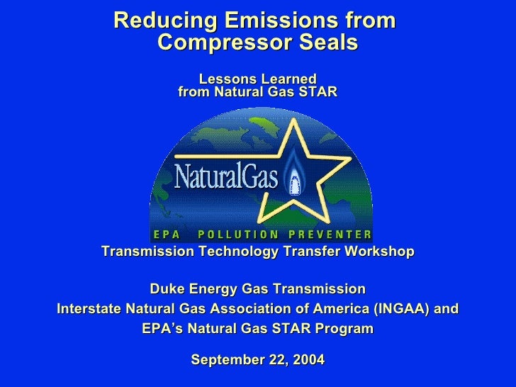Reducing Emissions From Compressor Seals