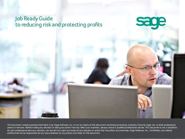 Job Ready Guide to Reducing Risk and Protecting Profits