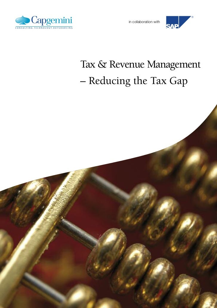 in collaboration withTax & Revenue Management– Reducing the Tax Gap