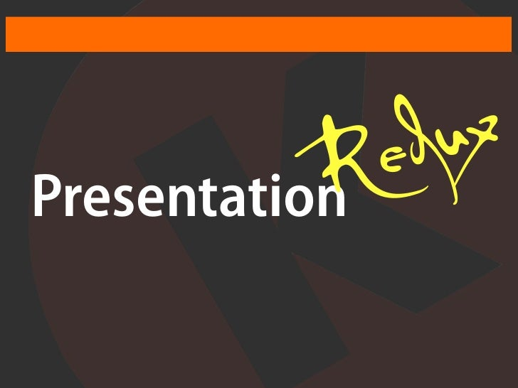 Red uxPresentation