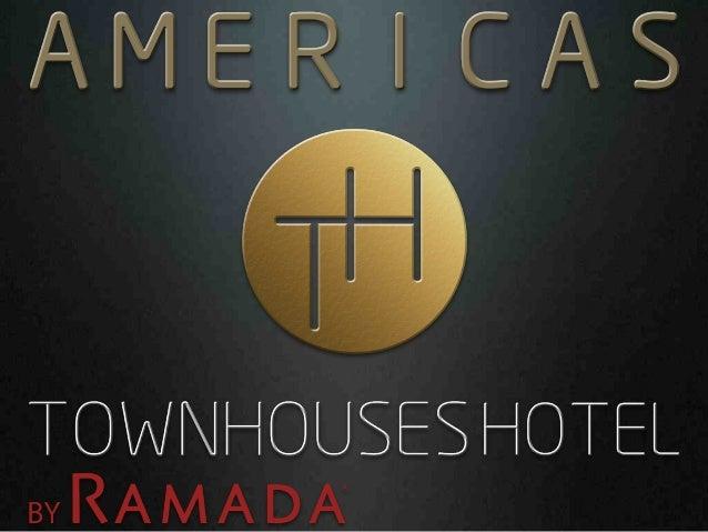 Perspectiva da fachada:  Américas Townhouses Hotel by RAMADA