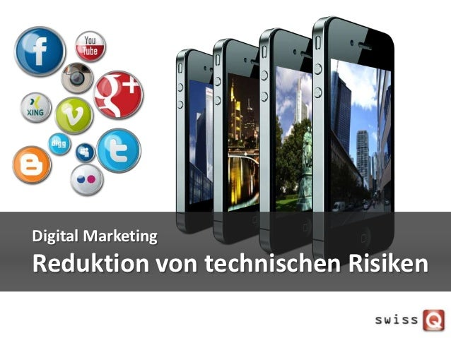 Digital MarketingReduktion von technischen Risiken