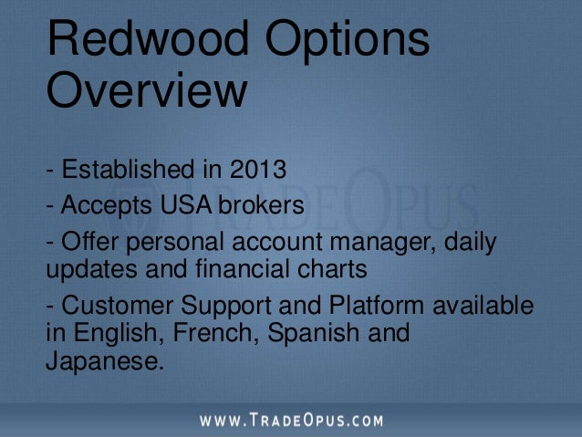 Is redwood binary options a scam
