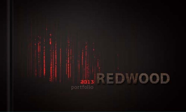 Redwood design identity portfolio   2013
