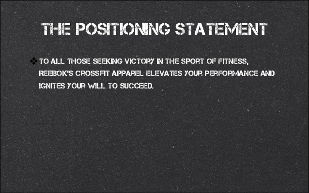 "nike brand positioning statement The nike mission statement is ""to bring inspiration and innovation to every athlete in the world."