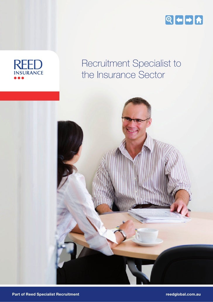 Recruitment Specialist to                                       the Insurance Sector     Part of Reed Specialist Recruitme...