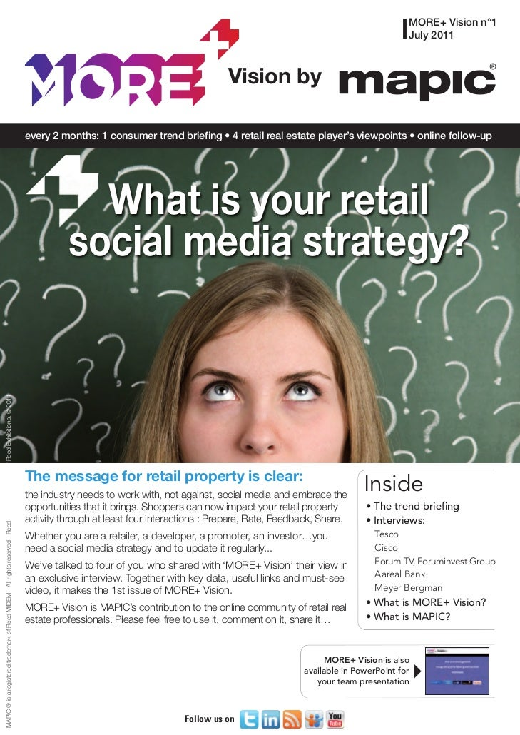 Is your store 'social media' ready ? - MORE Vision by MAPIC