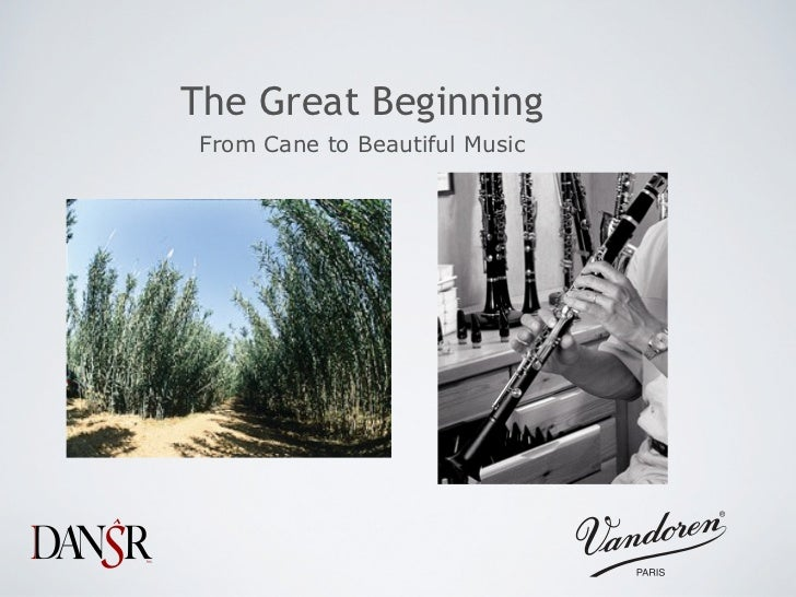 The Great BeginningFrom Cane to Beautiful Music