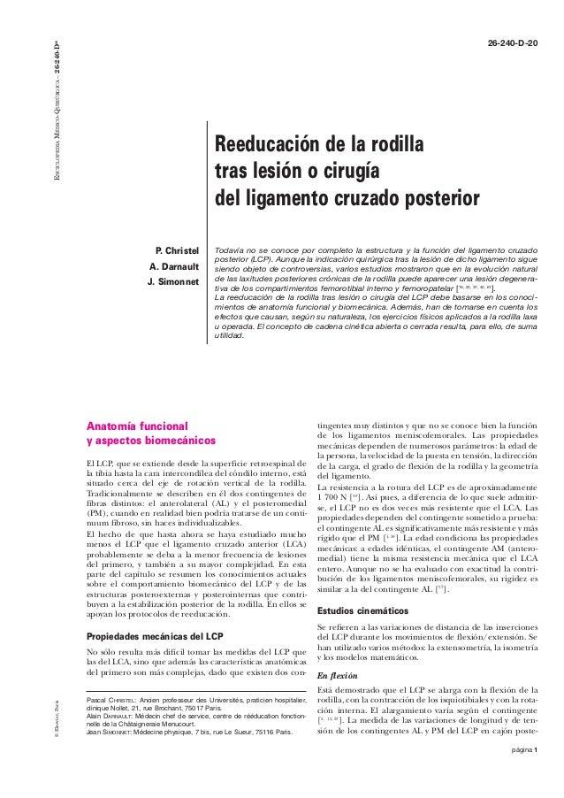 ENCICLOPEDIA MÉDICO-QUIRÚRGICA – 26-240-D20                                                                               ...